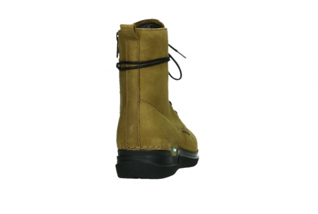 wolky lace up boots 06601 walla walla 11940 mustard nubuckleather_20