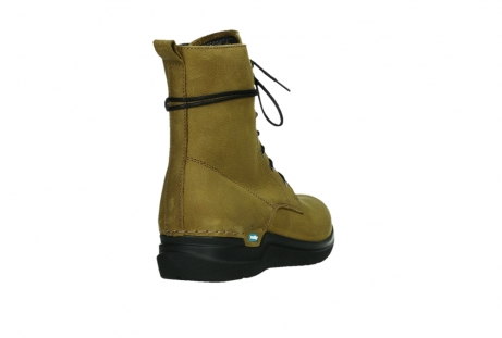 wolky lace up boots 06601 walla walla 11940 mustard nubuckleather_21