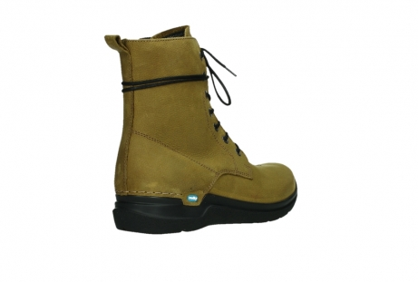 wolky lace up boots 06601 walla walla 11940 mustard nubuckleather_22