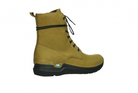 wolky lace up boots 06601 walla walla 11940 mustard nubuckleather_23