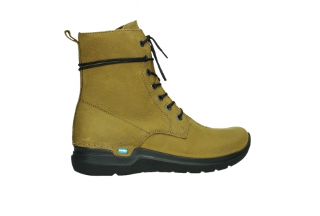 wolky lace up boots 06601 walla walla 11940 mustard nubuckleather_24