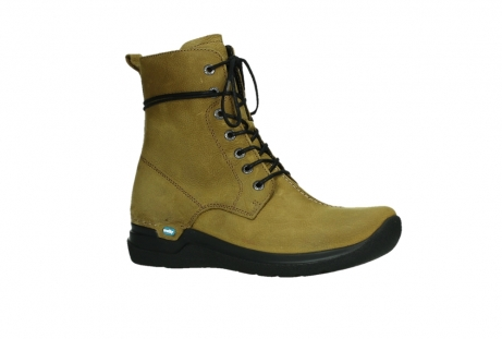 wolky lace up boots 06601 walla walla 11940 mustard nubuckleather_3
