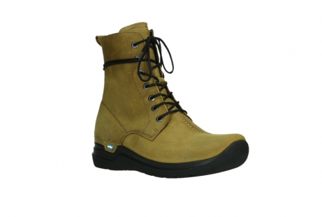 wolky lace up boots 06601 walla walla 11940 mustard nubuckleather_4