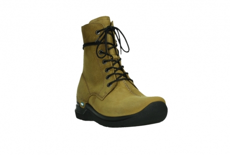 wolky lace up boots 06601 walla walla 11940 mustard nubuckleather_5
