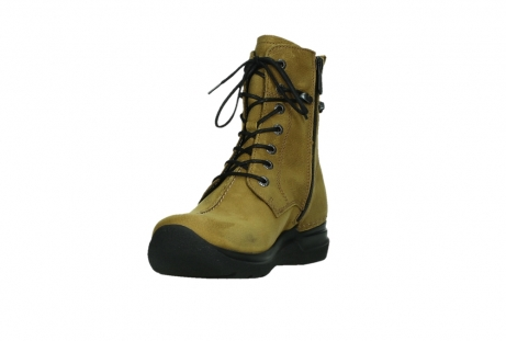 wolky lace up boots 06601 walla walla 11940 mustard nubuckleather_9