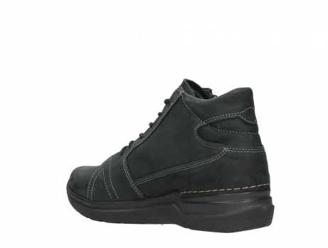 wolky lace up boots 06606 why 11000 black nubuck_16