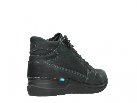 wolky lace up boots 06606 why 11000 black nubuck_22