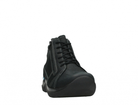 wolky lace up boots 06606 why 11000 black nubuck_6