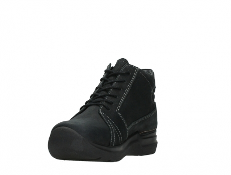 wolky lace up boots 06606 why 11000 black nubuck_9