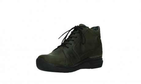 wolky lace up boots 06606 why 11715 bottlegreen nubuckleather_10