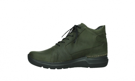 wolky lace up boots 06606 why 11715 bottlegreen nubuckleather_12