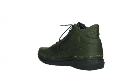 wolky lace up boots 06606 why 11715 bottlegreen nubuckleather_16
