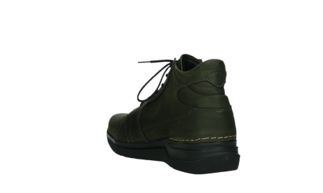 wolky lace up boots 06606 why 11715 bottlegreen nubuckleather_17