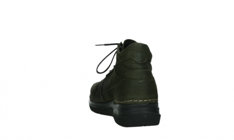 wolky lace up boots 06606 why 11715 bottlegreen nubuckleather_18