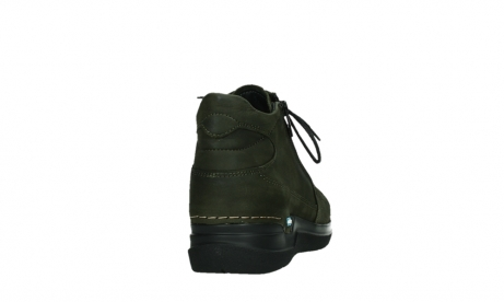 wolky lace up boots 06606 why 11715 bottlegreen nubuckleather_20
