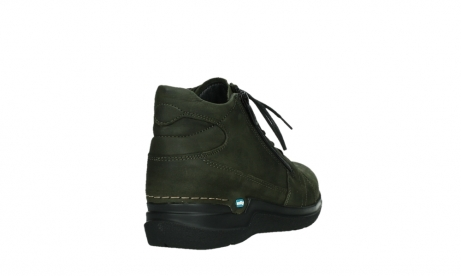 wolky lace up boots 06606 why 11715 bottlegreen nubuckleather_21
