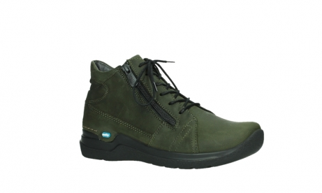 wolky lace up boots 06606 why 11715 bottlegreen nubuckleather_3