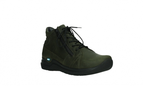 wolky lace up boots 06606 why 11715 bottlegreen nubuckleather_4