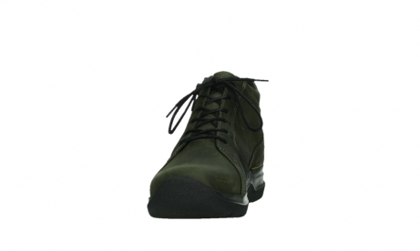 wolky lace up boots 06606 why 11715 bottlegreen nubuckleather_8
