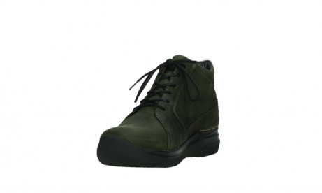 wolky lace up boots 06606 why 11715 bottlegreen nubuckleather_9