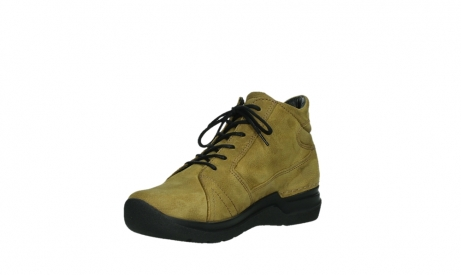 wolky lace up boots 06606 why 11940 mustard nubuckleather_10
