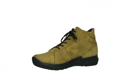 wolky lace up boots 06606 why 11940 mustard nubuckleather_11