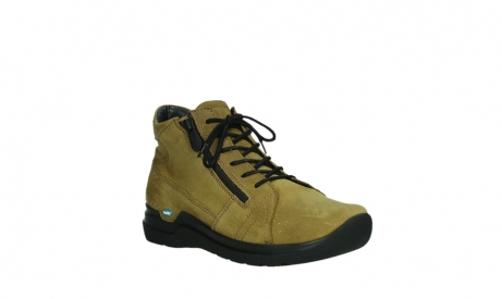 wolky lace up boots 06606 why 11940 mustard nubuckleather_4