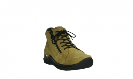 wolky lace up boots 06606 why 11940 mustard nubuckleather_5