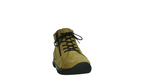 wolky lace up boots 06606 why 11940 mustard nubuckleather_6