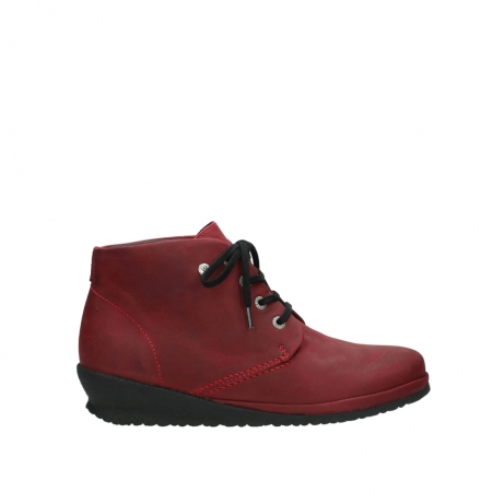 wolky lace up boots 07251 sacramento 11530 bordeaux leather