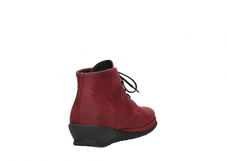 wolky lace up boots 07251 sacramento 11530 bordeaux leather_9