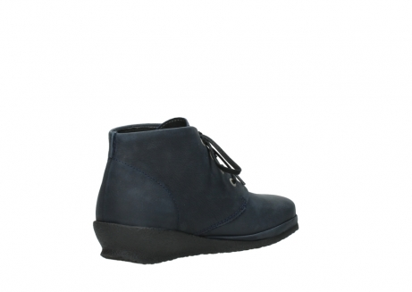 wolky lace up boots 07251 sacramento 11802 blue oiled nubuck_10