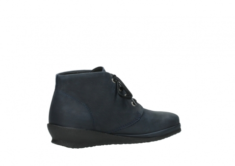 wolky lace up boots 07251 sacramento 11802 blue oiled nubuck_11