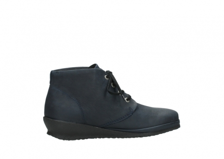 wolky lace up boots 07251 sacramento 11802 blue oiled nubuck_12