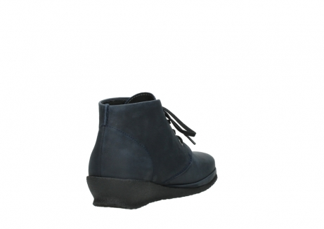 wolky lace up boots 07251 sacramento 11802 blue oiled nubuck_9
