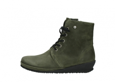 wolky lace up boots 07252 madera 11732 forestgreen oiled nubuck_1