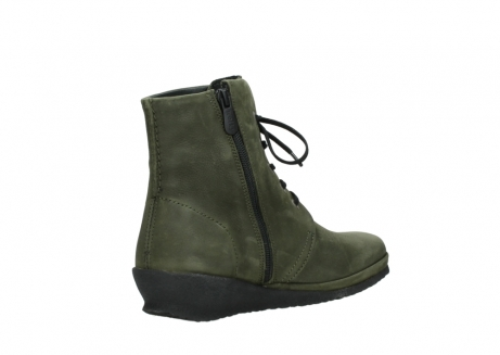 wolky lace up boots 07252 madera 11732 forestgreen oiled nubuck_10