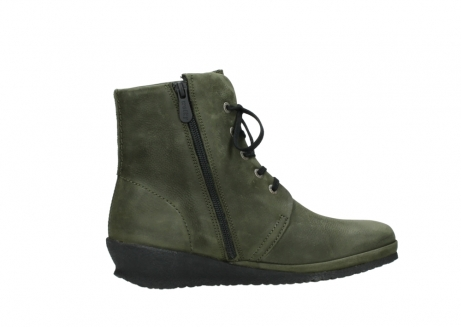 wolky lace up boots 07252 madera 11732 forestgreen oiled nubuck_12