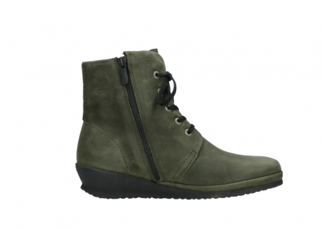 wolky lace up boots 07252 madera 11732 forestgreen oiled nubuck_13