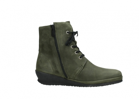 wolky lace up boots 07252 madera 11732 forestgreen oiled nubuck_14