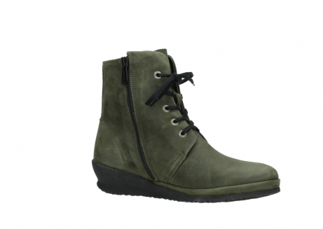 wolky lace up boots 07252 madera 11732 forestgreen oiled nubuck_15