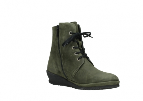 wolky lace up boots 07252 madera 11732 forestgreen oiled nubuck_16