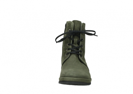 wolky lace up boots 07252 madera 11732 forestgreen oiled nubuck_19