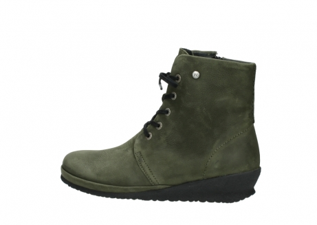 wolky lace up boots 07252 madera 11732 forestgreen oiled nubuck_2