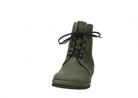 wolky lace up boots 07252 madera 11732 forestgreen oiled nubuck_20