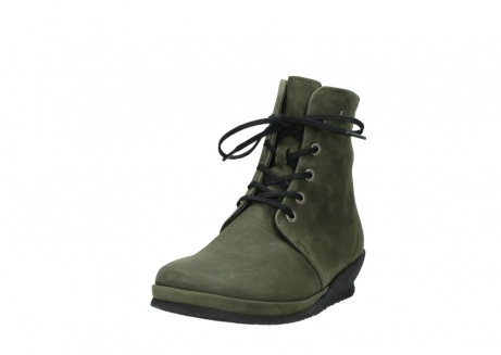 wolky lace up boots 07252 madera 11732 forestgreen oiled nubuck_21