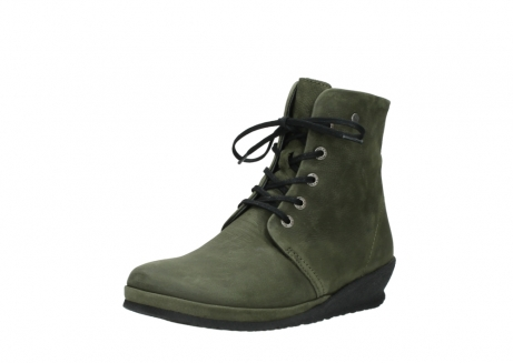 wolky lace up boots 07252 madera 11732 forestgreen oiled nubuck_22