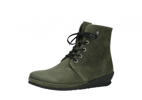 wolky lace up boots 07252 madera 11732 forestgreen oiled nubuck_23