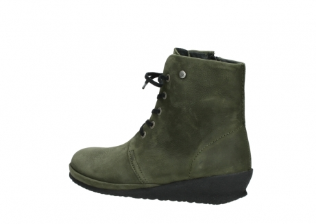 wolky lace up boots 07252 madera 11732 forestgreen oiled nubuck_3
