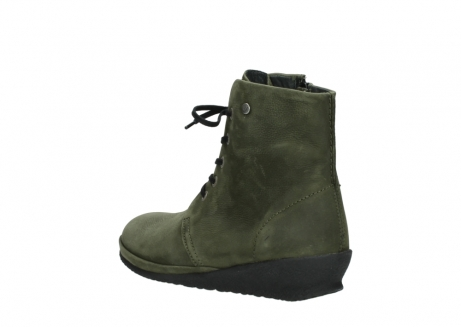wolky lace up boots 07252 madera 11732 forestgreen oiled nubuck_4